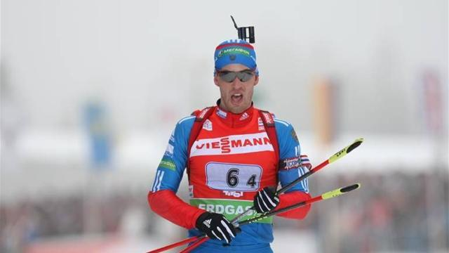 Biathlon - Russia win at unpredictable Oberhof
