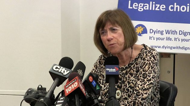 Multiple sclerosis patient Linda Jarrett says she wants the right to decide when she'll die.