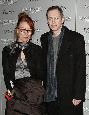 Steve Buscemi and wife at the New York City premiere of Focus Features' Miss Pettigrew Lives for a Day
