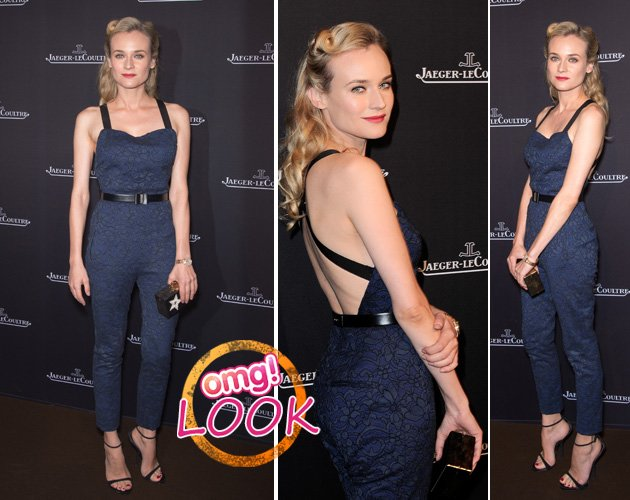 Diane Kruger in Paris - im oberstylischen Overall von Jason Wu (Bilder: Getty Images)
