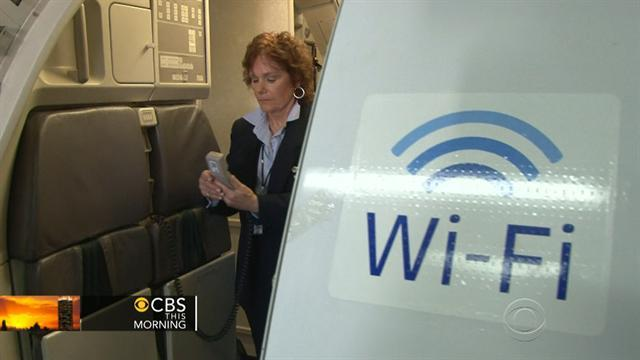 Sky high Wi-Fi could be big money for airlines