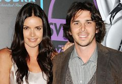 Courtney Robertson and Ben Flajnik  | Photo Credits: Jason LaVeris/FilmMagic