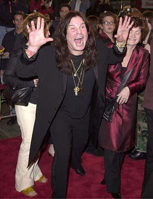 Premiere: The Ozzman Freaketh Us Out - Ozzy Osbourne at the Mann's Chinese Theatre premiere of New Line's Little Nicky - 11/2/2000