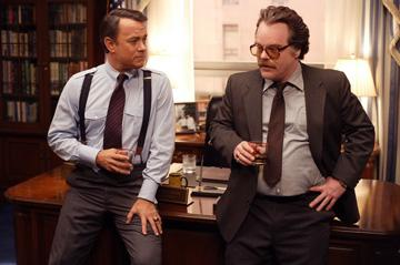 Tom Hanks and Philip Seymour Hoffman in Universal Pictures' Charlie Wilson's War