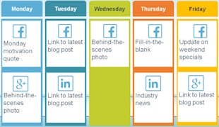 How To Create A Social Media Posting Schedule image Calendar22