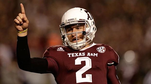 Texas A&M Aggies quarterback Johnny Manziel (AFP)