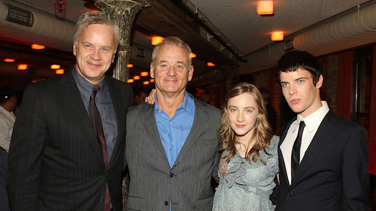 City of Ember NY Premiere 2008 Tim Robbins Bill Murray Saorise Ronan Harry Treadaway