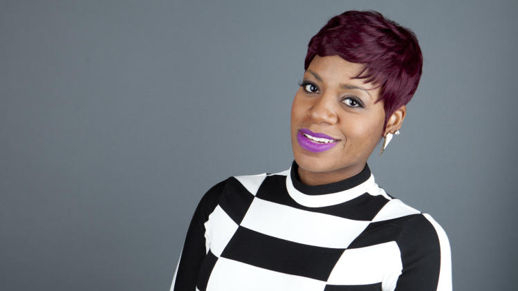 "This April 24, 2013 photo shows American R&B singer Fantasia Barrino posing for a portrait in New York. Barrino will star in the Broadway-bound ""After Midnight,"" a musical revue celebrating Duke Ellington's years at the famous Cotton Club nightclub in Harlem. Producers said Thursday, July 18, that Barrino, last seen on Broadway in ""The Color Purple,"" will be their first guest star in the show. Performances start on Oct. 18, with an official opening night set for Nov. 3. Barrino ends her run Feb. 9. (Photo by Amy Sussman/Invision/AP, File)"