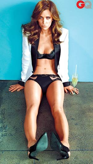 Kristen Wiig in GQ.