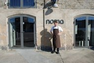 Chef Rene Redzepi stands in front of his restaurant Noma in 2004 in Copenhagen. This Danish restaurant has been named the best in the world for a third year running in an international survey that also gave top rankings to establishments in Spain, Brazil and Italy