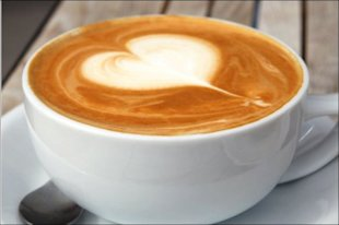 Influence Marketing: What's Next? image heart in coffee
