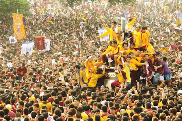 Feast of the Black Nazarene 2013