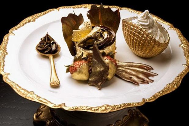 You'll probably need to order this at , but it's worth it. Arguably the world's most expensive cupcake, this Bloomsbury Café creation is made with Italian chocolate, vanilla b