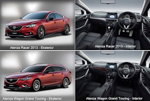 Atenza Racer 2013 sedan n Atenza Wagon Grand Touring