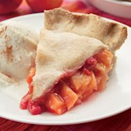 Peach-Raspberry Pie