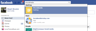 Facebook Updates: Hashtags and Filtering Pages in the Newsfeed image Facebook hashtags 1