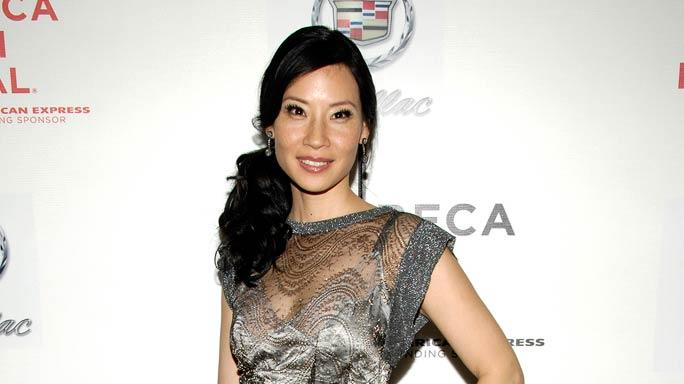 "Lucy Liu wearing Dolce Gabbana at the 6th Annual Tribeca Film Festival ""Watching the Detectives"" After Party."