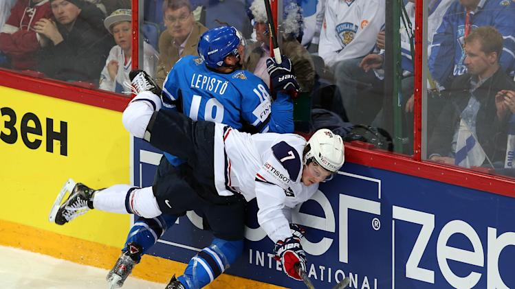 USA v Finland - 2013 IIHF Ice Hockey World Championship