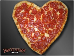 The Good, Bad & Ugly: Valentines Day Ads image pizza