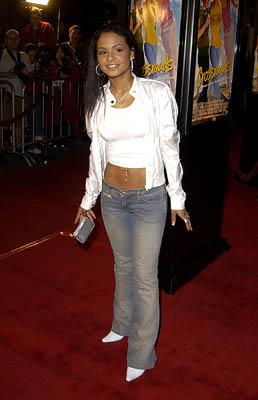 Christina Milian at the Hollywood premiere for Paramount's Crossroads