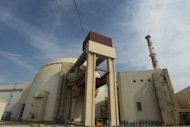 The reactor building at the Bushehr nuclear power plant in southern Iran is pictured. The United States on Friday announced charges against an Iranian citizen and Chinese resident for allegedly trying to export nuclear-related material to help Tehran enrich uranium