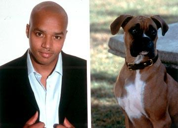 Donald Faison is the voice of Wilson in MGM's Good Boy!