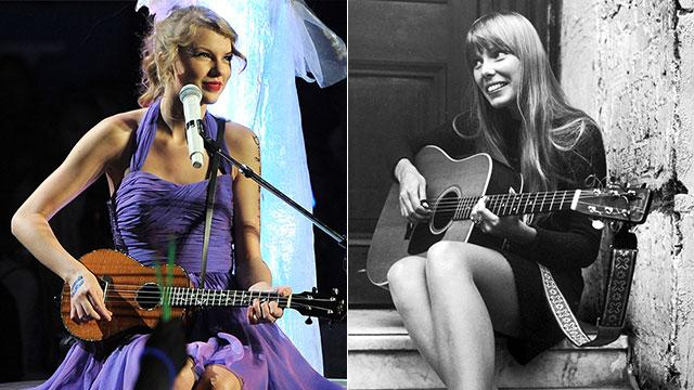 Taylor Swift to Play Joni Mitchell?