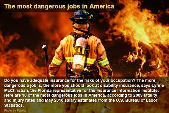 The most dangerous jobs in America