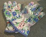 Sprout floral gardening gloves, $16.99.