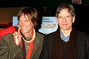 Premiere: Kevin Bacon and Campbell Scott at the NY premiere of Off the Map - 3/1/2005
