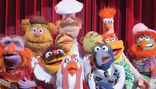 Muppets joy! (Yahoo! Photo)