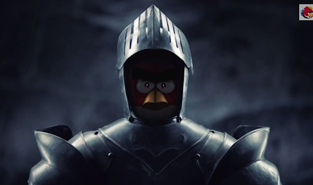 A bird in a suit of armor because Rovio says so.