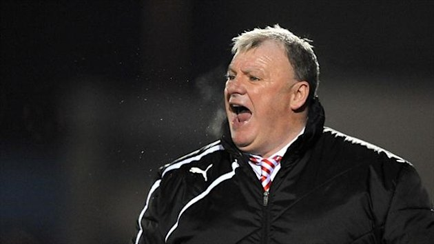 Steve Evans wants to continue his 'project' at Rotherham