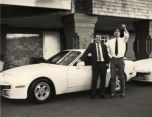 Steve Jobs, Craig Elliott, and the Porsche