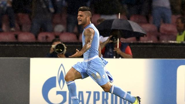 Serie A - Insigne 'wants to finish career at Napoli'