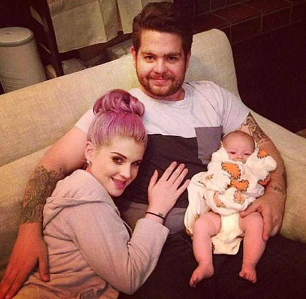 Celebrity photos: The Osbourne family have had a tough week after it was announced that Jack Osbourne has multiple sclerosis. However, they stuck together with Kelly Osbourne tweeting this cute photo