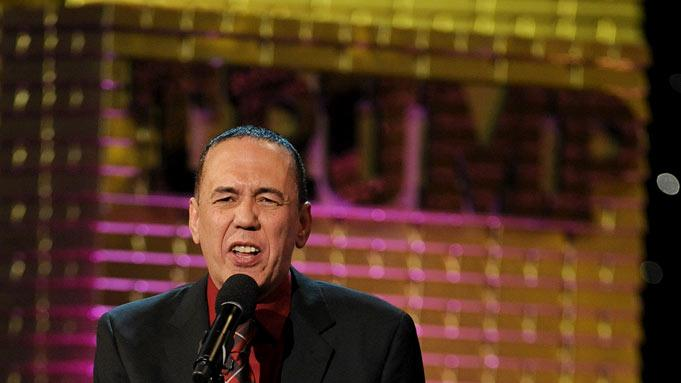 Gilbert Gottfried at the Comedy Central Roast Of Donald Trump.