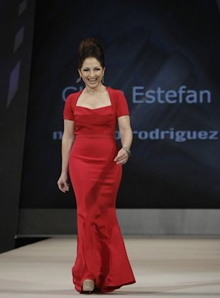 Gloria Estefan wore a dress by her friend, Narciso Rodriguez
