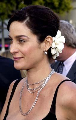Carrie Anne Moss of Lethal Tender at the Hollywood premiere of Warner Brothers' The Matrix: Reloaded