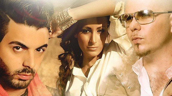"Kenza Farah : Kenza Farah collabore avec Pitbull pour le single ""Habibi I Love You"" d'Ahmed Chawki"