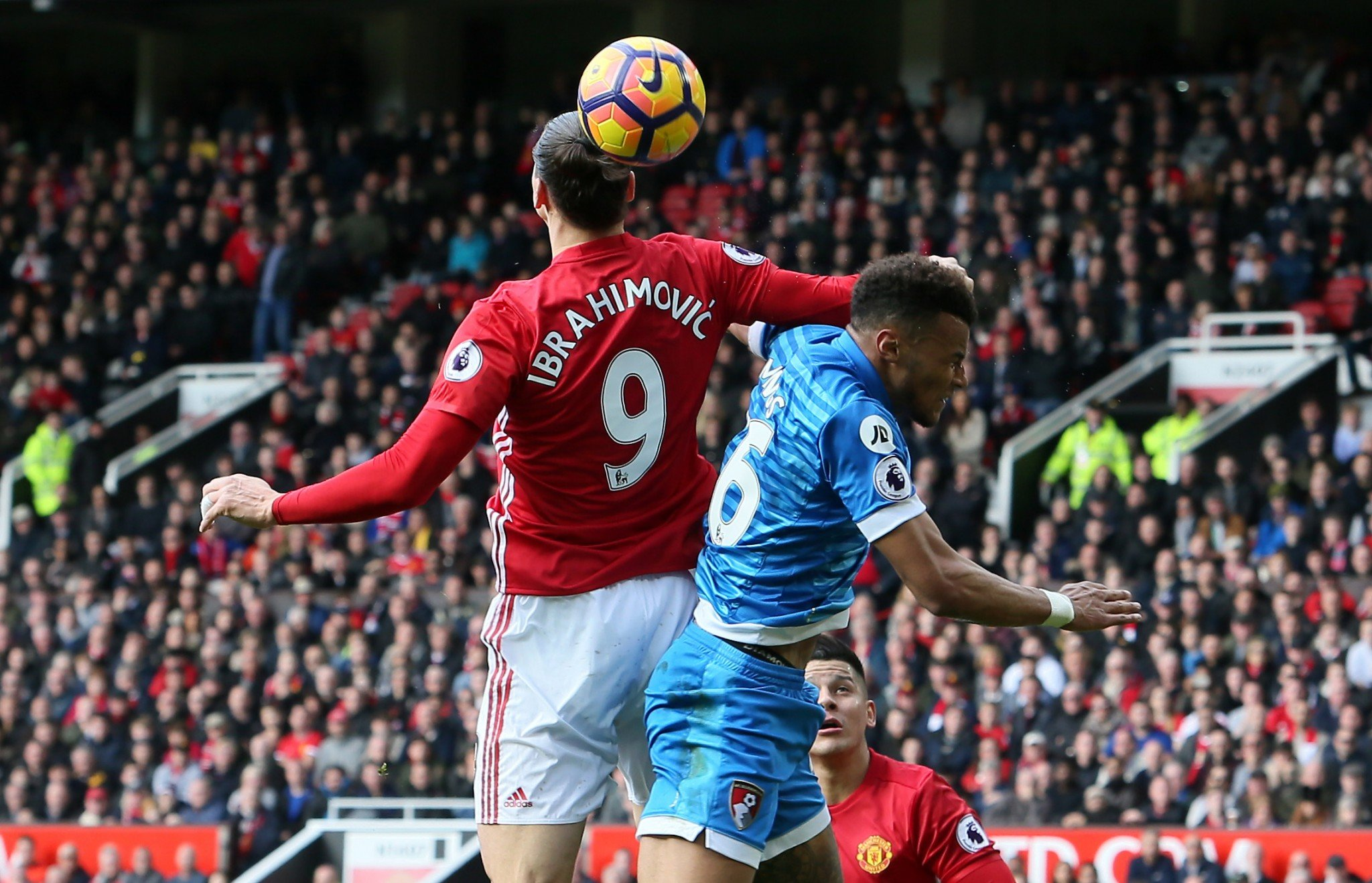 Zlatan ibrahimovic insists he was just protecting himself against Tyrone Mings