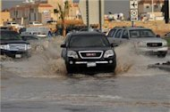 Floods in Saudi Arabia kill 16 people