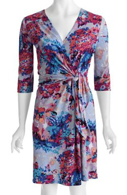 George Career Essentials Jersey Wrap Dress