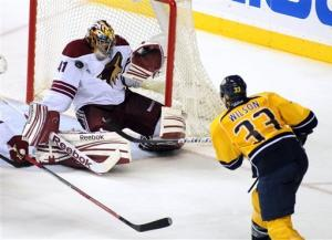 Predators-Coyotes Preview