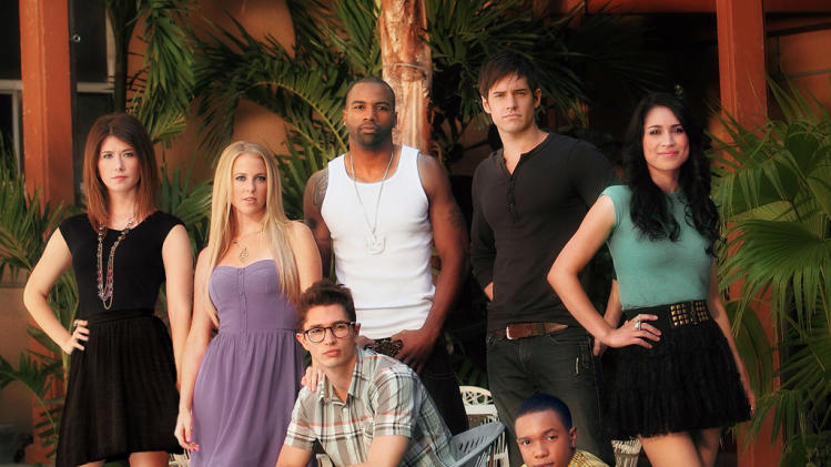 "The cast of ""L.A. Complex"""