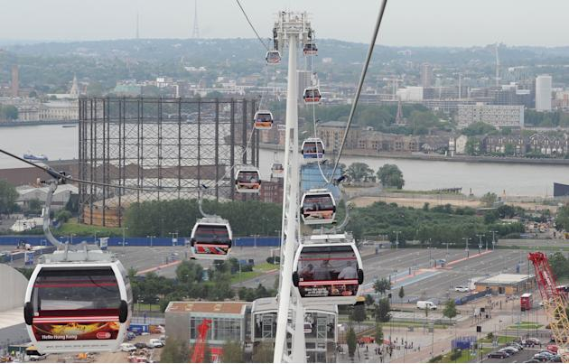 London's Cable Car Opens To The Public