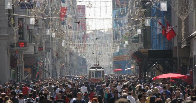 شارع الاستقلال في إسطنبول - المصدر: ويكيبيديا