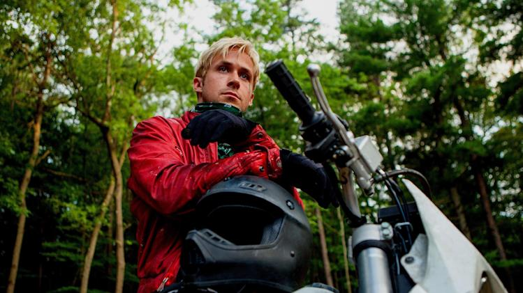 "This film image released by Focus Features shows Ryan Gosling in ""The Place Beyond the Pines."" (AP Photo/Focus Features, Atsushi Nishijima)"