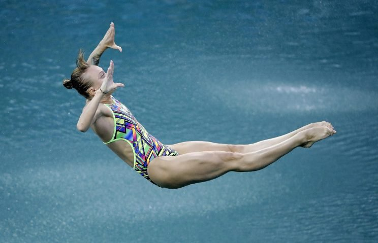 3 dives by russian olympic diver scores