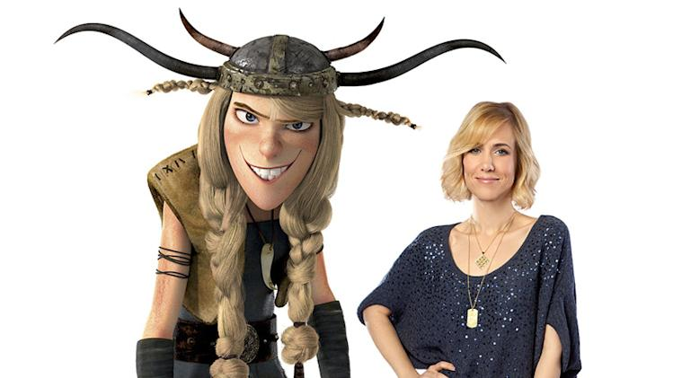 How to Train Your Dragon Production Photos 2010 DreamWorks Kristen Wiig